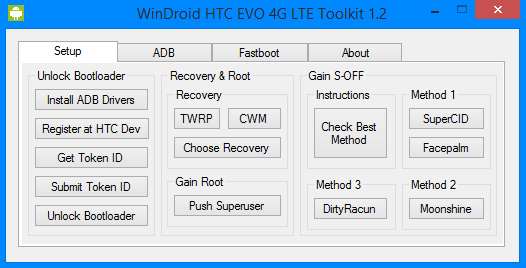 WinDroid 1.2 for the HTC EVO 4G LTE