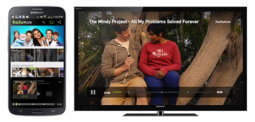 Chromecast of the Mindy Project