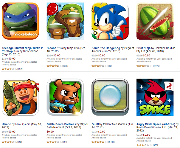 Amazon Appstore Ultimate Games Collection