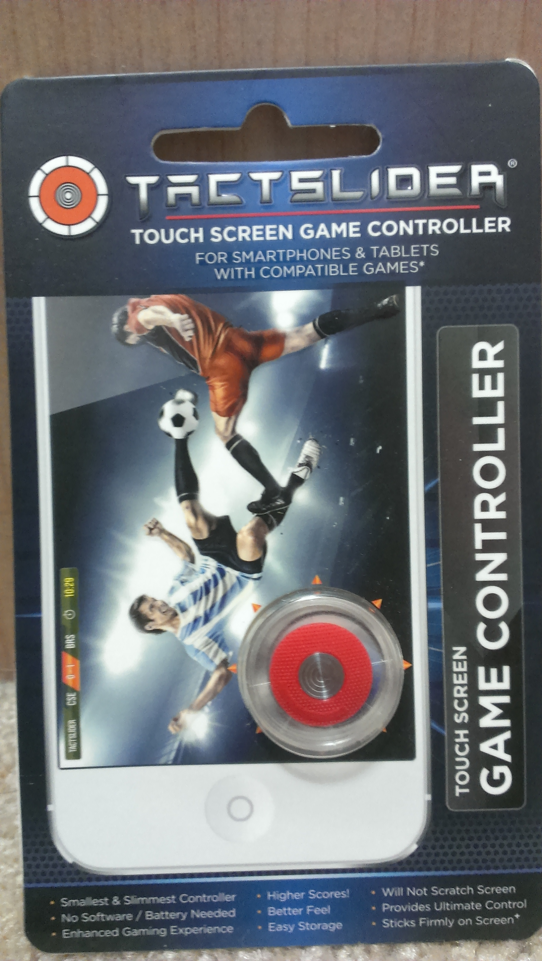 TactSlider Touch Screen Game Control box