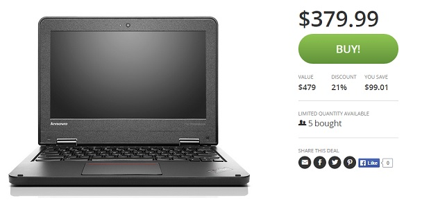 Lenovo Yoga Groupon deal