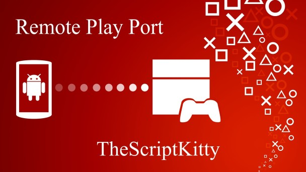 Playstation Remote Play Port