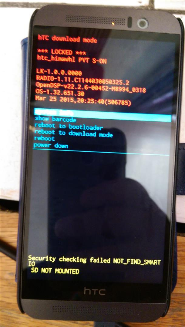 HTC One M9 download mode