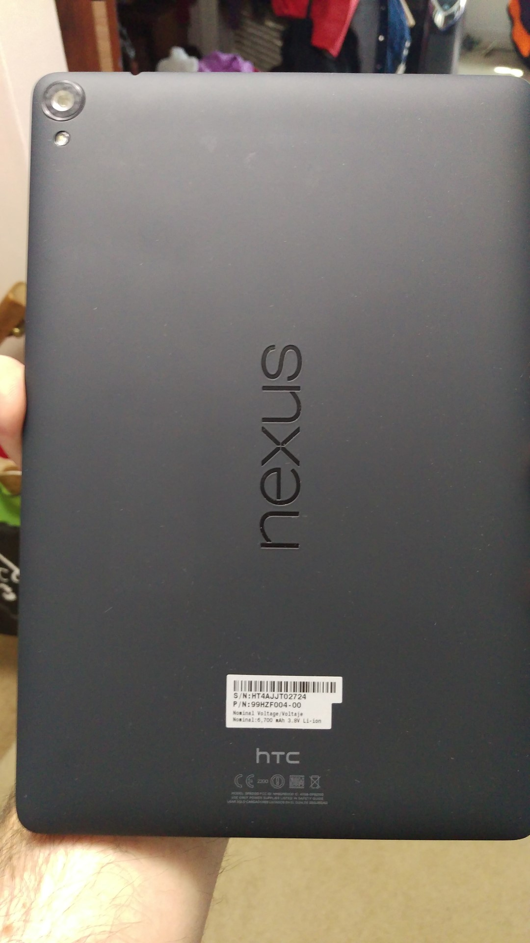 My brief affair with a Nexus 9
