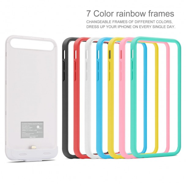 1byone 7 color rainbow frames