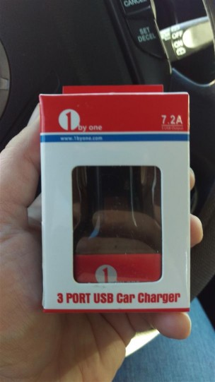 1byone 7.2A/36W Car Charger