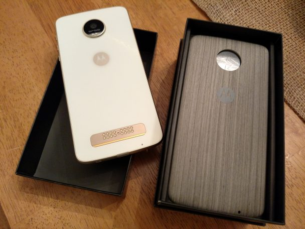 Moto Z Play Droid Back