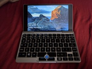 GPD Pocket Front View