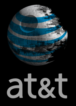 AT&T death star from https://www.flickr.com/photos/aaronpk/5819020691/in/photostream/