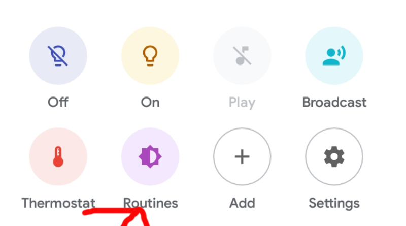 Google Home app, now with routines in an easy to notice location