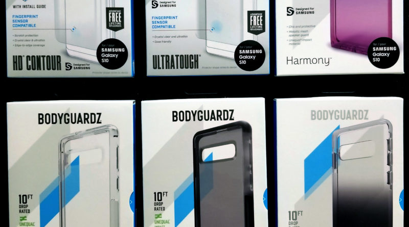 BodyGuardz Galaxy S10 cases