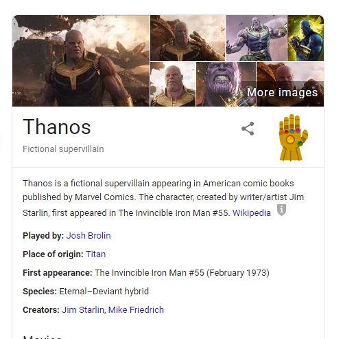 Thanos doesn't have time for your squabbles